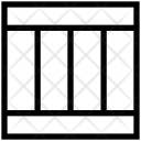 Four Columns Template Icon