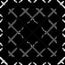 Four Corners Arrow Arrow Direction Icon
