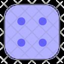 Four Dice Icon