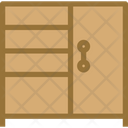 Four Portion Door Cabinet Icon