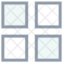 Four Squares Layout Icon