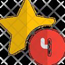 Four Star Icon