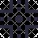 Four Way Road Icon
