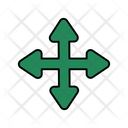 Four Way Arrow Icon
