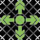 Four Ways Arrow Icon