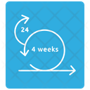 Four Week Sprint Icon