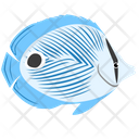 Foureye Butterfly Fish Icon