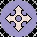 Fourth Way Arrows Icon