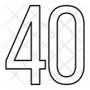 Fourty Icon