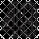 Fourty Nine Icon