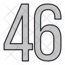 Numbers Days 46 Icon