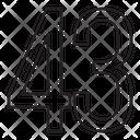 Fourty Three Icon