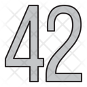Numbers Days 42 Icon