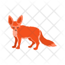 Fox Animal Wildlife Icon