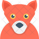 Fox Coyote Animal Icon