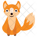 Fox Coyote Animal Icon