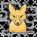 Fox Animal Fox Face Icon