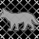 Fox Animal Fauna Icon