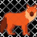 Fox Wolf Animal Icon