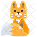 Fox Vixen Canine Icon