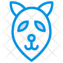 Fox Mammal Zoo Icon