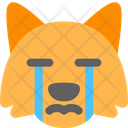 Fox Crying Icon