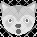 Fox Emoji Face Icon