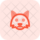Fox Frowning Icon