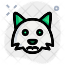 Fox Frowning Animal Wildlife Icon