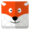 Fox Animal Wildlife Icon