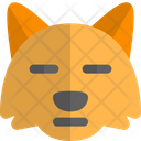 Fox Meh Animal Wildlife Icon