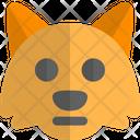 Fox Neutral Animal Wildlife Icon