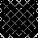 Fox Neutral Closed Eyes Icon