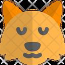 Fox Pensive Icon