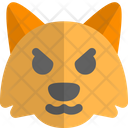 Fox Pouting Animal Wildlife Icon