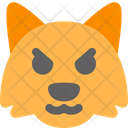 Fox Pouting Icon