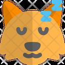 Fox Sleeping Icon