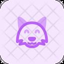 Fox Smile Icon