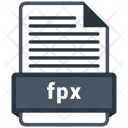 Fpx File Formats Icon