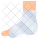 Foot Injury Foot Plaster Fractured Ankle Icon