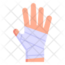 Fractured Hand Bandage Injured Hand Icon