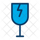 Fragile Glass Glassware Icon