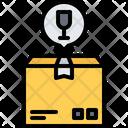 Fragile Box Delivery Icon