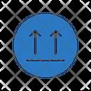Fragile Sign Box Icon