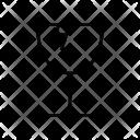 Fragile Shape Sign Icon