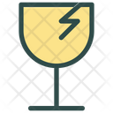 Glass Delivery Shipping Icon