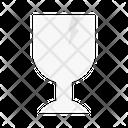 Fragile Broken Glass Icon