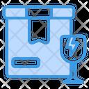 Fragile Cargo Glass Icon