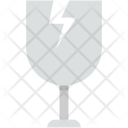 Fragile Symbol Glass Icon
