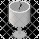 Fragile Glass Icon